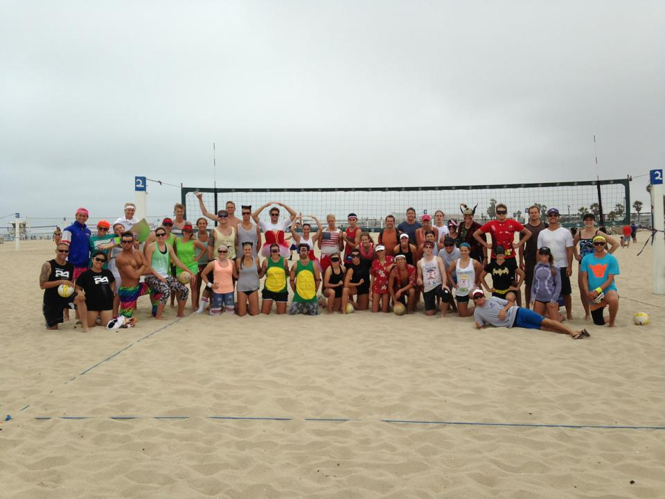 FCA volleyball tournament