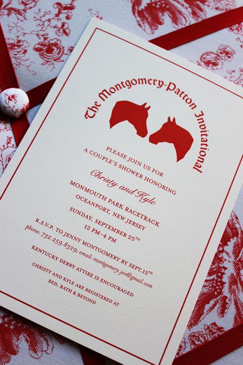 Christina D'Asaro Custom Invitation