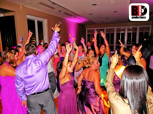 Sandestin Wedding DJ Hands Up Dancing