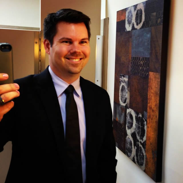 <em><strong>DJ Brian B. Selfie! Heading out for an event.</strong></em>