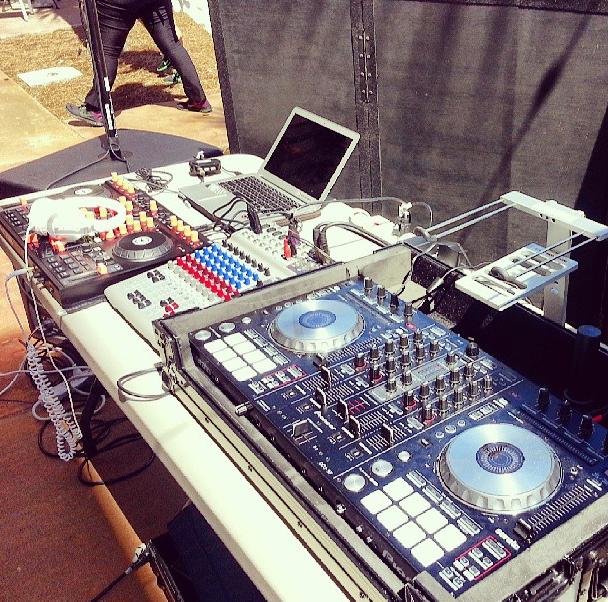 Dual DJ Setup