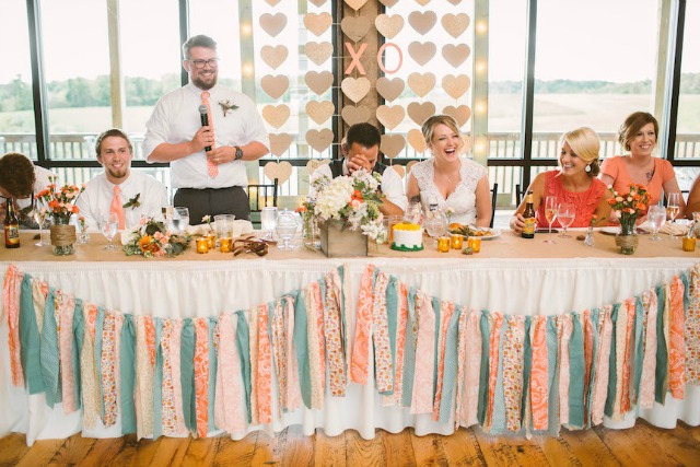 White Barn Wedding Toasts