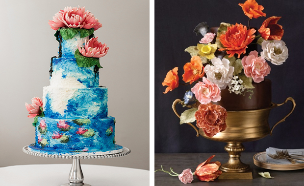 How about a cake that looks like a Monet or a Dutch Master's painting?