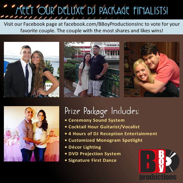 DJ wedding package