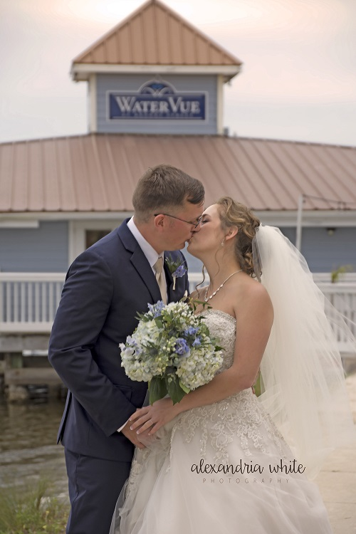 Watervue At Brooks Street Wedding