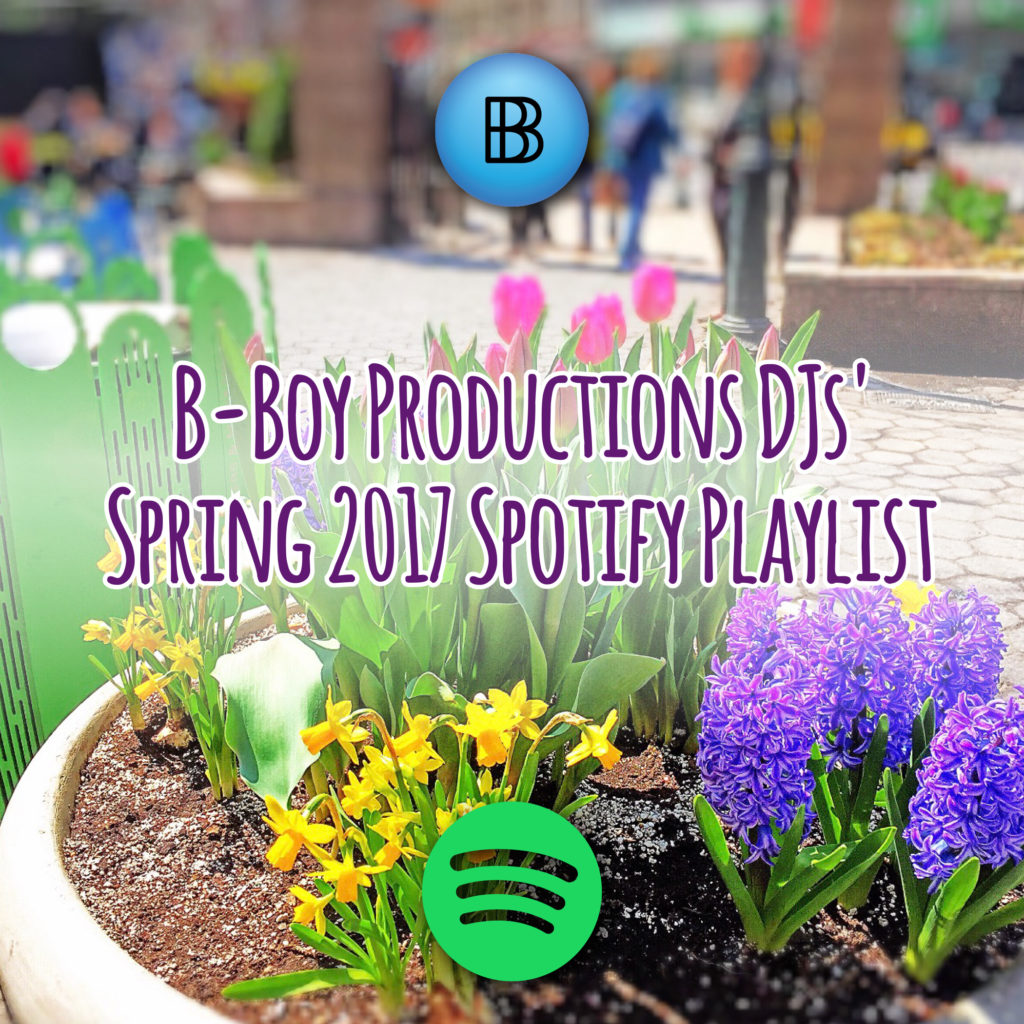 Spring 2017 Spotify Playlist